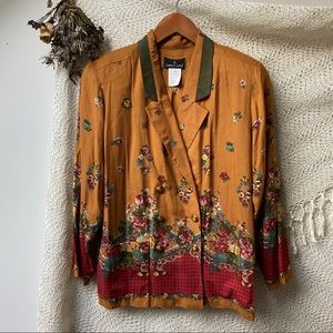 Cottage Core Autumn Blazer